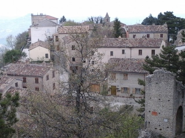 Smerillo - Amandola, Marche, Italia