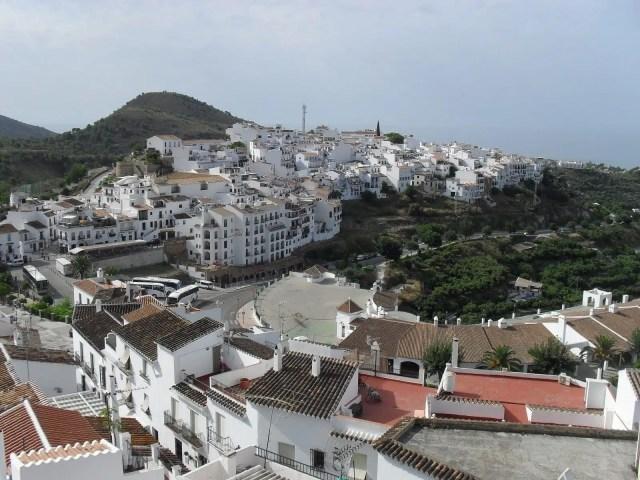Los Pueblos Blancos, Andalusia, Spagna