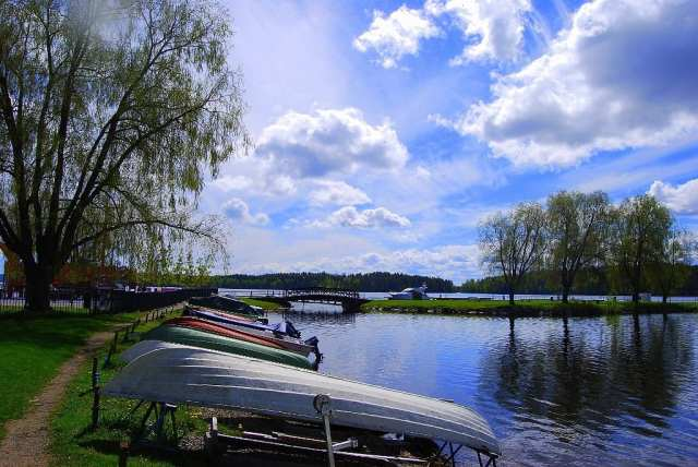 Lago Saimaa - Savonlinna, Finlandia
