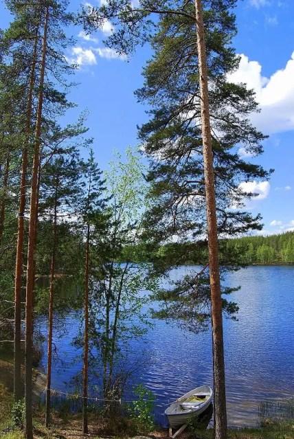 Sahanlahti Resort - Puumala, Finlandia (lago Saimaa)