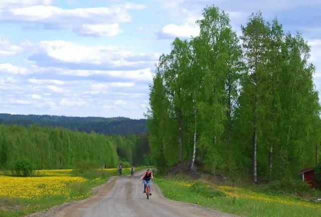 Cicloturismo - Lago Saimaa, Finlandia