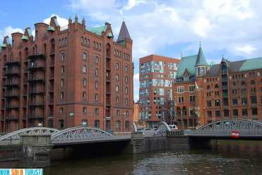 Speicherstadt, Amburgo, Germania