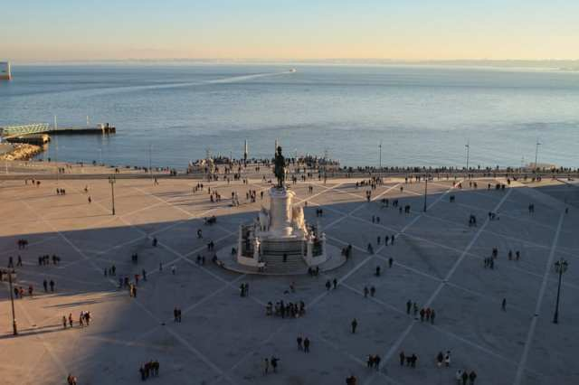 Praça do Comércio - Lisbona, Portogallo