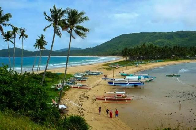 Nacpan - Filippine