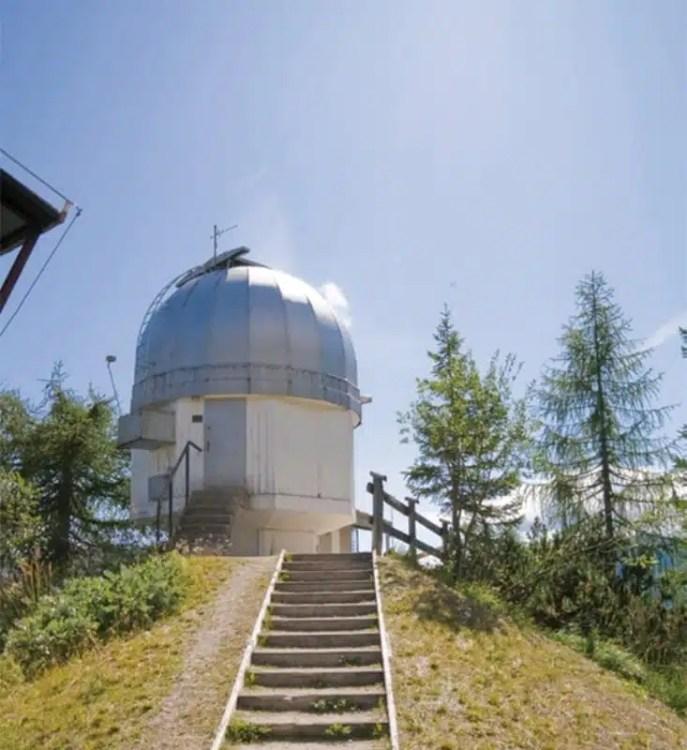 Tofana Day: l'osservatorio astronomico a Col Drusciè