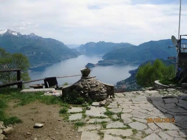 Escursione intorno al Lago di Como: Breglia e i Monti Lariani