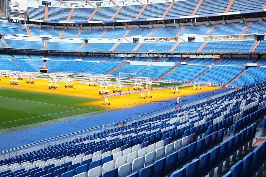Vivere il calcio in Europa, stadio Santiago Bernabeu