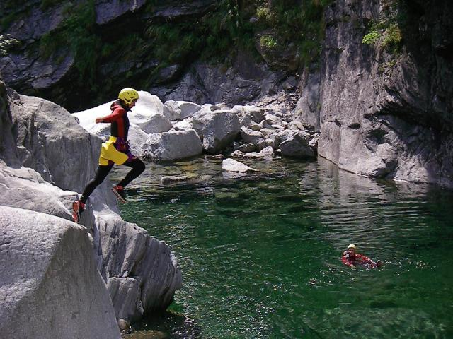Canyoning - Bodengo, Valchiavenna
