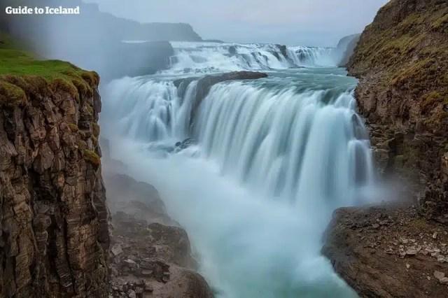 Cascata Gullfoss Islanda