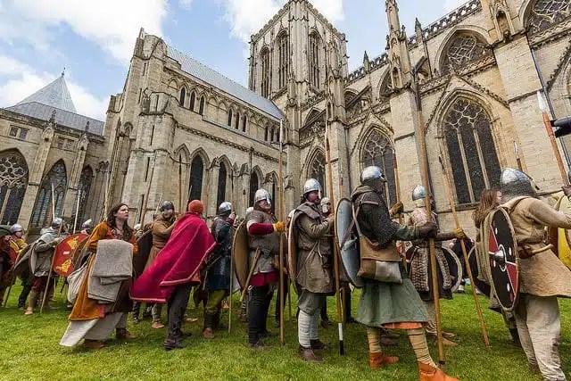 Jorvik Viking Festival - York, Inghilterra