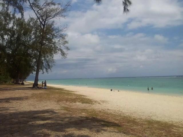 La spiaggia di Flic en Flac - Maurizio