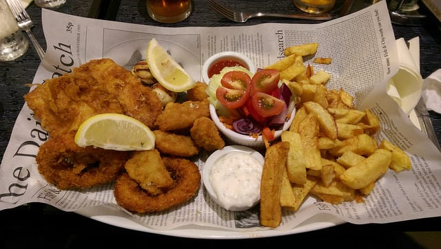 Fish and chips - Londra - cucina inglese