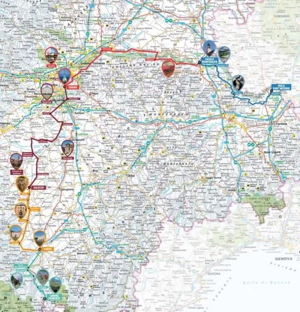 Ciclabile EuroVelo 8 - Piemonte