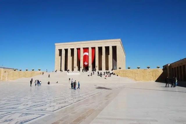 Anıtkabir, mausoleo Atatürk - Ankara, Turchia