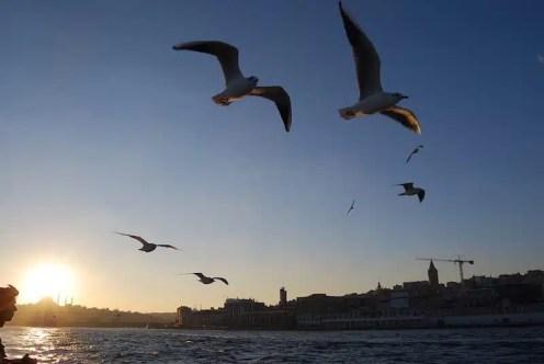 Stretto del Bosforo - Istanbul, Turchia