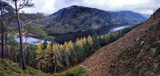 The Upper Lake, Glendalough, Contea di Wicklow - Irlanda