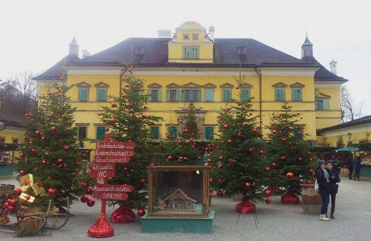 Avvento nel Salisburghese: mercatino di Hellbrunn
