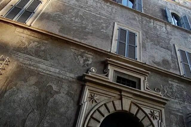 Palazzo Milesi - Roma, palazzi parlanti
