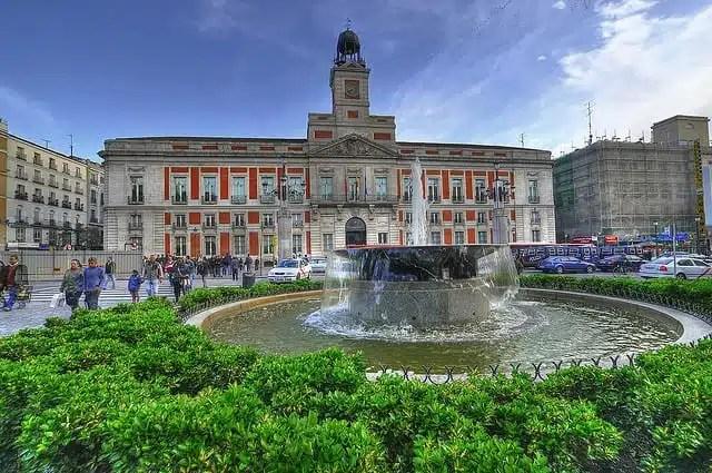 Capodanno nel mondo segnato dalla paura - Puerta del Sol, Madrid