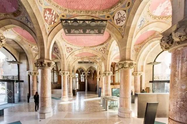 Recinte Modernista de Sant Pau - Barcellona, Spagna