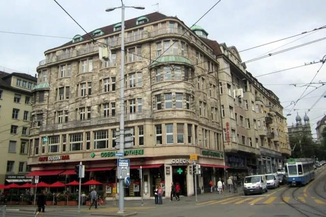 Cafe Odeon - Zurigo, Svizzera