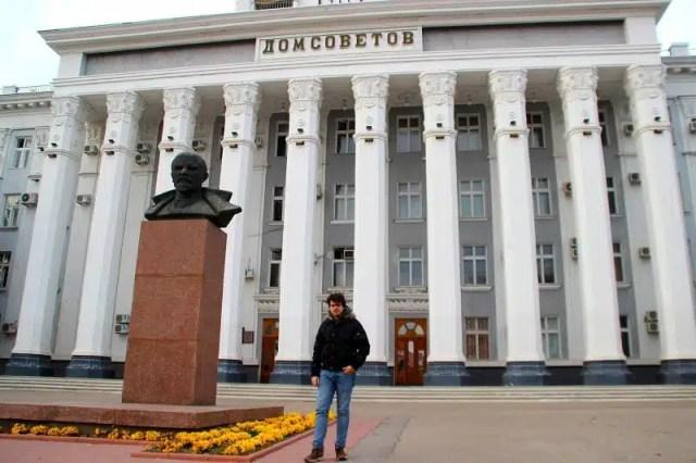 Casa dei Soviet - Tiraspol, Transnistria