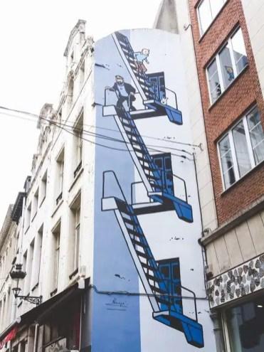 Murales - Bruxelles, Belgio