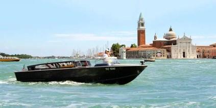 Venezia in motoscafo