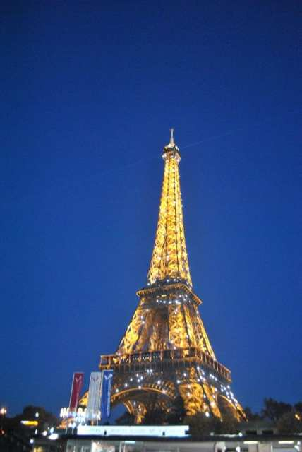 Torre Eiffel - Parigi con i bambin