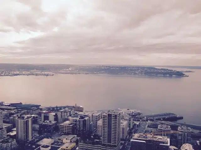 Vista Space Needle - Seattle, USA