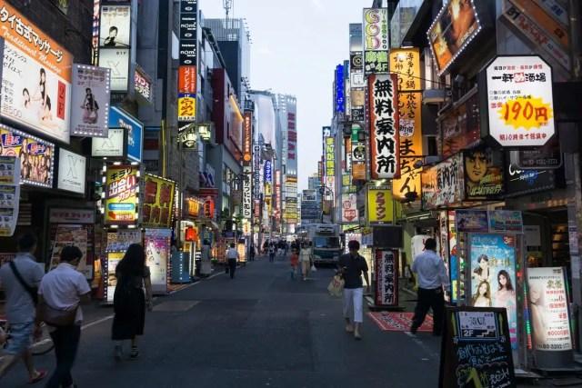 Kabukicho - Tokyo, Giappone