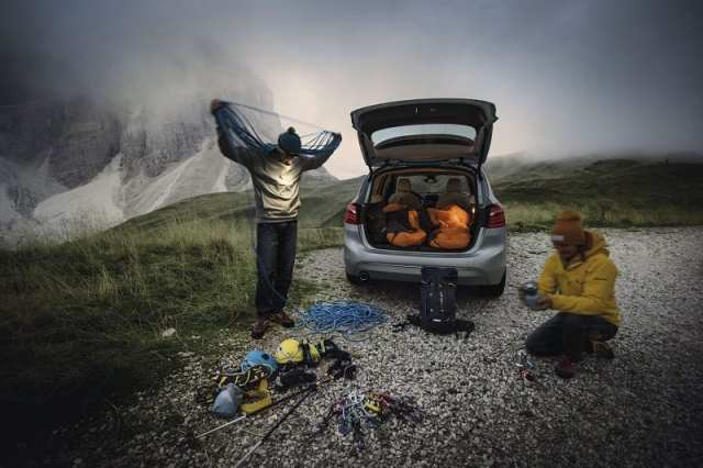 Base camp experience con Salewa