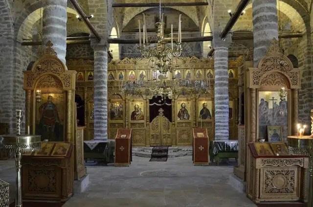 Chiesa di Timiou Stavrou interni - Grecia