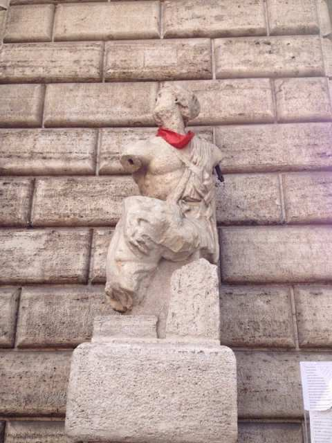 Pasquino - Piazza Navona, Roma