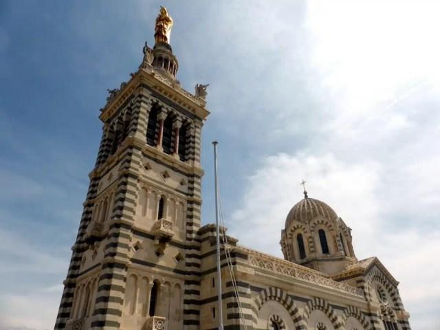 Notre-Dame de la Garde - Marsiglia, Francia