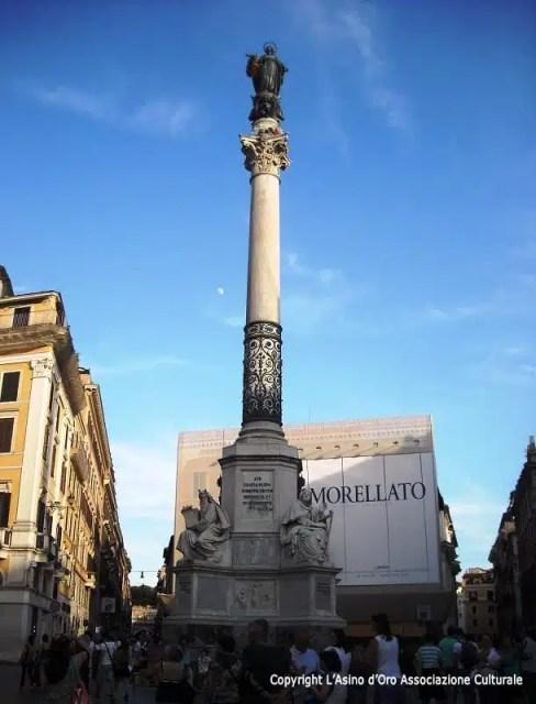 Colonna Immacolata - Piazza di Spagna, Roma