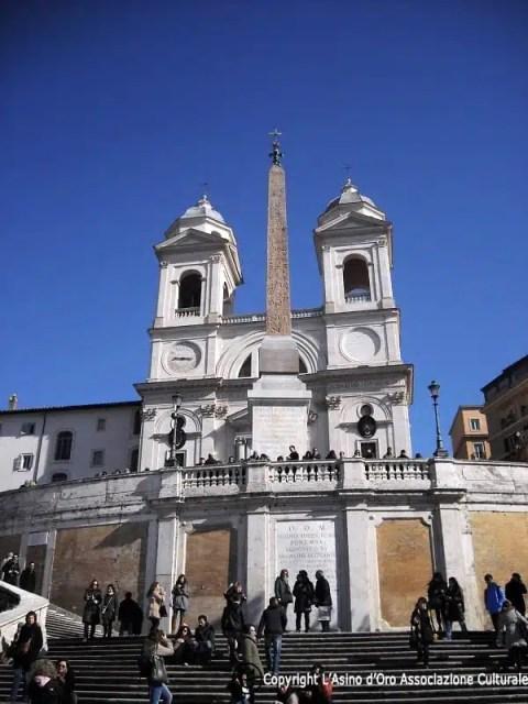 Trinità dei Monti - Piazza di Spagna, Roma