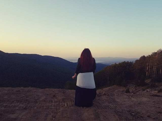 panorama dal parco nazionale della Sila