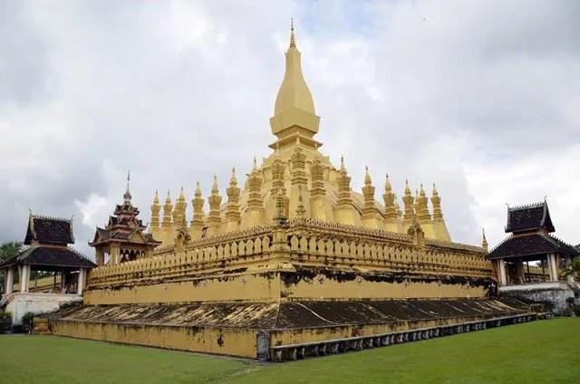 Pha That Luang - Vientiane, Laos