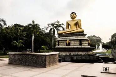 La statua di Buddha - Colombo