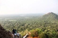 Vista della giungla, dalla Rocca di Sigiriya