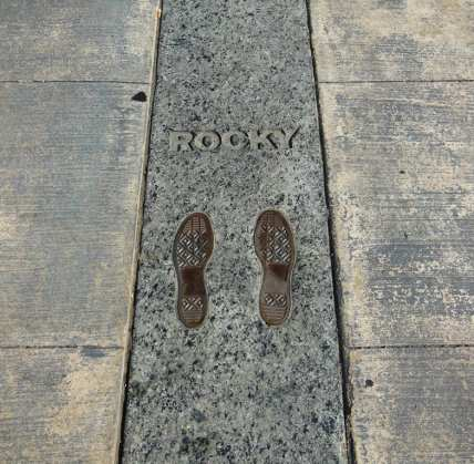 Rocky's steps - photo by michela crosa
