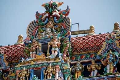 4 tetto del gopura