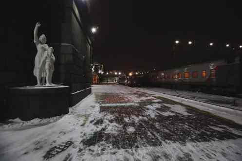 Treno in Russia