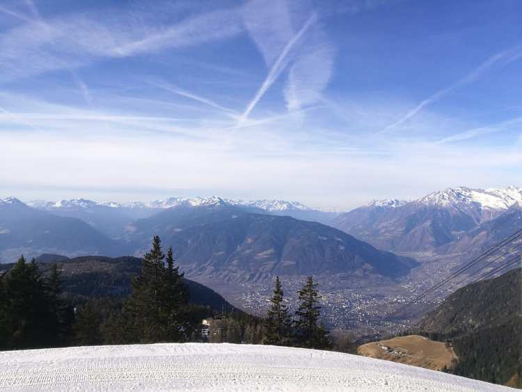 Merano, Alto Adige, Sud Tirolo, Merano 2000, slittino