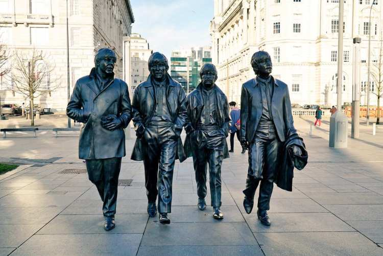 statua beatles