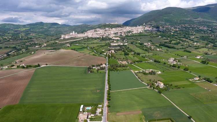 assisi dal drone