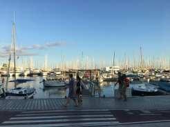 Passeggiata lungo il porto