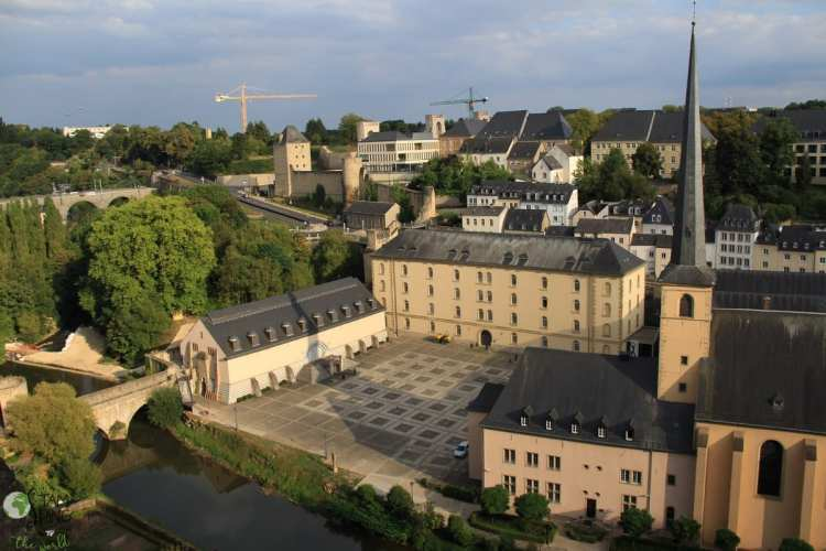 Abbazia di Neimënster - Lussemburgo