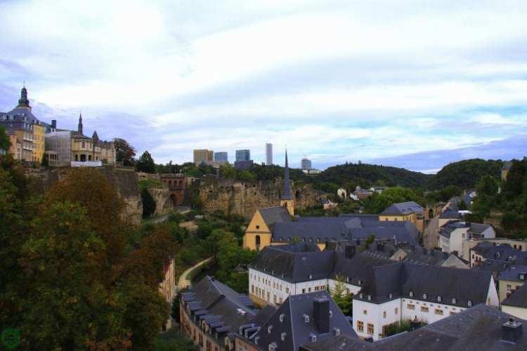 chemin de la corniche - Lussemburgo